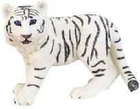 "Siberian White Tiger Cub Collectible Wild Cat 5.5"" Figurine - Free Shipping & Photon Gift"