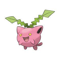 Hoppip (Pokémon) ❤ liked on Polyvore featuring pokemon