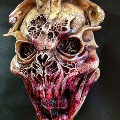 Dummie de espuma de Poliuretano.  Diseño y elaboración: César Perlop  #Sculpey #Monster #creepy #scary #HumansAndMonsters #CesarPerlop