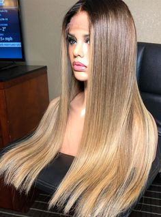 Wonderful Totally Free human hair wig white Concepts People see which african american females are easier to locks loss. Because of varied kinds and be easier to Medium Ash Blonde Hair, Ash Blonde Hair Dye, Blonde Hair Care, Blond Ombre, Dyed Hair, Blonde Lace Front Wigs, Straight Lace Front Wigs, Front Lace, Short Human Hair Wigs