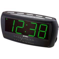 Jensen JCR-208 AM/FM Alarm Clock Radio $16.99