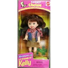 Barbie Kelly Cowgirl Chelsie doll