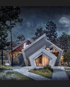Today's Architectural Inspiration 👌 Like if you love the design! Comment below your thoughts on this unique work PC: Modern Architecture House, Concept Architecture, Futuristic Architecture, Amazing Architecture, Interior Architecture, Architecture Building Design, Classical Architecture, Foster Architecture, Kerala Architecture