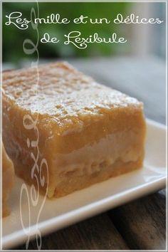 les milles & un délices de ~lexibule~: ~Carrés tarte au sucre~ Cupcake Recipes, Snack Recipes, Dessert Recipes, Cooking Recipes, Cinnamon Cream Cheese Frosting, Cinnamon Cream Cheeses, Köstliche Desserts, Delicious Desserts, Biscuit Cookies