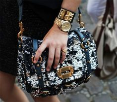 love the jewelry and the purse.