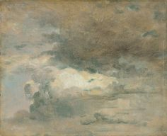 John Constable: eight cloud studies (1820s)