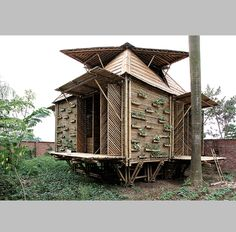 hup architects vivienda de emergencia de bamb en hanoi vietnam viva