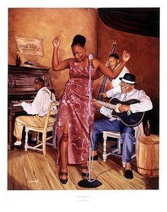 Creators of Jazz - 28x22 - print - Jason Delancey