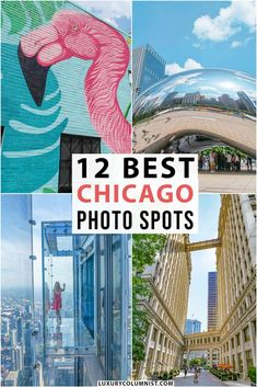 The 12 Best Photography Spots in Chicago, USA Usa Travel Guide, Travel Usa, Travel Tips, Travel Destinations, Solo Travel, Travel Ideas, Chicago Photography, Amazing Photography, Travel Photography