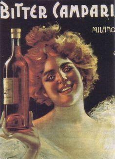 Bitter Campari - vintage poster