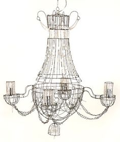 Lustre Opaline Chandelier for Dior, Paris