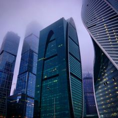Moscow City, Moscow.