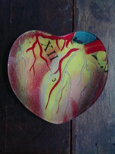 'Heart Chart' just in time for Valentine's Day!  From John Derian's Spring collection.