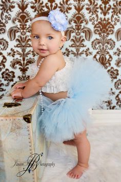 Baby Girl Blues - tutu time!