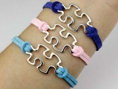 Jigsaw puzzle bracelet Korea cashmere bracelet Many colors for you to choose.