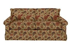 Madeline Apartment Size Sofa by La-Z-Boy  I like this more traditional pattern, gives me a lot of the colors I want to see.