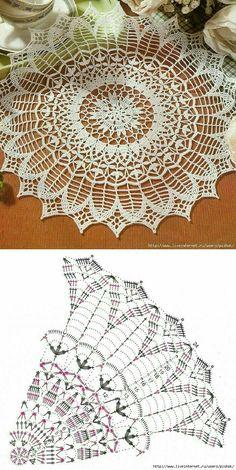 Free Crochet Doily Patterns, Crochet Mat, Crochet Home, Filet Crochet, Crochet Crafts, Crochet Doilies, Crochet Granny, Doily Art, Fabric Doll Pattern