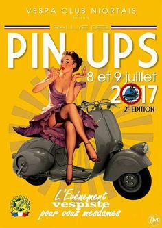 pin-up girls. pin up art Vespa Vintage, Vintage Ads, Vintage Posters, Pin Up Girl Vintage, Retro Pin Up, 50s Pin Up, Vespa Girl, Scooter Girl, Pin Up Kunst