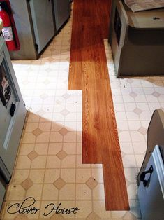 RV Remodel on a Budget - Floor Update :: Hometalk