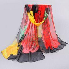 Accessories women scarf 2017 new design long shawl print scarves cape silk chiffon tippet muffler Chiffon Scarf, Silk Chiffon, Wholesale Scarves, Madame, Women Brands, Scarf Styles, Womens Scarves, Wrap Style, Lady