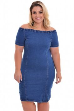 Vestido Plus Size Ninah