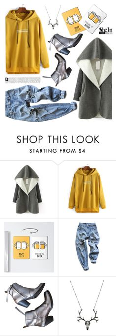 """""""Untitled #2271"""" by deeyanago ❤ liked on Polyvore featuring Levi's, Acne Studios, GetTheLook and Sheinside"""