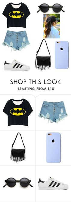 """Casa de Laura"" by karenrodriguez-iv on Polyvore featuring WithChic, adidas, women's clothing, women's fashion, women, female, woman, misses and juniors"