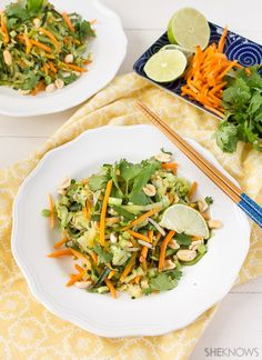 Pad thai with zucchini noodles | she knows