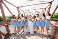 Bridemaids tulle skirts
