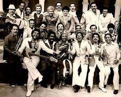 Hector LaVoe, Yomo Toro, Celia Cruz,, Johnny Pacheco and a host of salsa super stars from the made up La Fania All-Stars. Spanish Music, Latin Music, Dance Music, Good Music, My Music, Music Books, Live Music, Heavy Metal, Puerto Rican Music