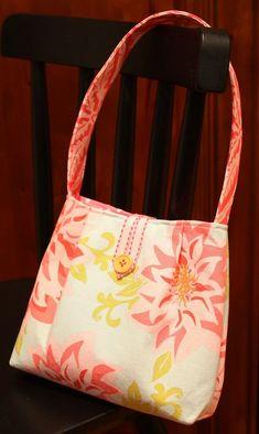 little clutch purse tutorial - for a little girl