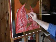 Dipingere l'icona dell'Arcangelo Michele - schiarimenti - YouTube