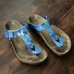 Floral Sandals, Pink Sandals, White Sandals, Suede Sandals, Striped Off Shoulder Top, Birkenstock Sandals, Brown Leather Sandals, Sandals