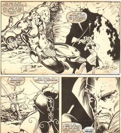 Capns Comics: More Michael Golden