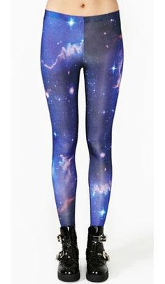 Galactic | 9 Stylish Leggings to Knock Your Socks Off #style #clothing #style #fashion