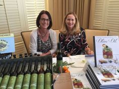 Les Dames conference with Sue Robers, book signing and tasting- California Greek Girl — California Greek Girl