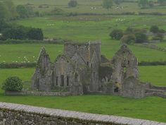 There is nothing as romantic as a ruined castle. Except a ruined castle in Ireland.