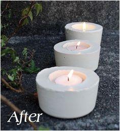 after candleholder