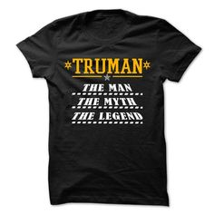 TRUMAN Is The Legend Special Shirt !!! - #birthday gift #gift amor. ACT QUICKLY => https://www.sunfrog.com/Holidays/TRUMAN-Is-The-Legend-Special-Shirt-.html?68278