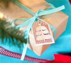 Customize your gift tags with a little holiday cheer!