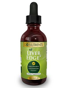Liver Edge™ - Detox and Cleanse Supplement - Large 2oz Bottle