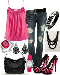 Love this whole outfit.... Girls night outfit
