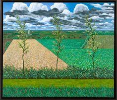 Scott Kahn : Paintings -- La Charante