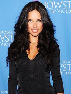 Adriana Lima. She's a hero because she decided she was not going to give up her virginity until after she was married. She can't help that she exudes sex appeal but that doesn't mean she's a tramp. Go Adriana! You're a hero