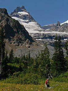 Wonderland Trail - I so want to do this hike - 93 miles around Mt Rainier...If only my ankle would cooperate.