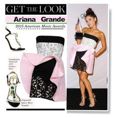 """""""2015 American Music Award: Ariana Grande"""" by hamaly ❤ liked on Polyvore featuring Dsquared2, GetTheLook, RedCarpet, ArianaGrande, CelebrityStyle and GiambattistaValli"""