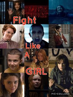 The girls of stranger things Justice for Barb