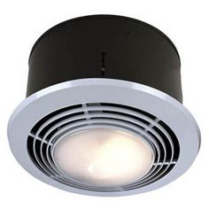 Broan-Nutone 9093WH Bathroom Heat / Fan / Light / Night-Light with Switch - The multi-functional NuTone 9093WH Bathroom Heat / Fan / Light / Night-Light with Switch is a powerful ventilator that works quickly and efficiently...