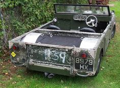 Land Rover - Rat style