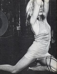 Debbie Harry- pre disco- regular on the bill at CBGB's